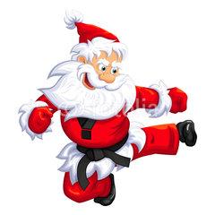 Karate-Santa